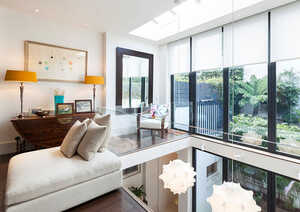 6 bedroom house with separate mews house in Notting Hill